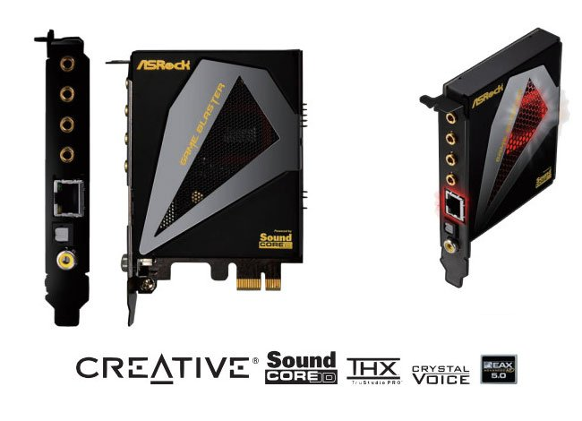 Creative ASRock Game Blaster Sound Card