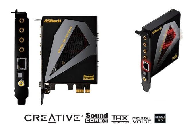 Creative ASRock Game Blaster Sound Card