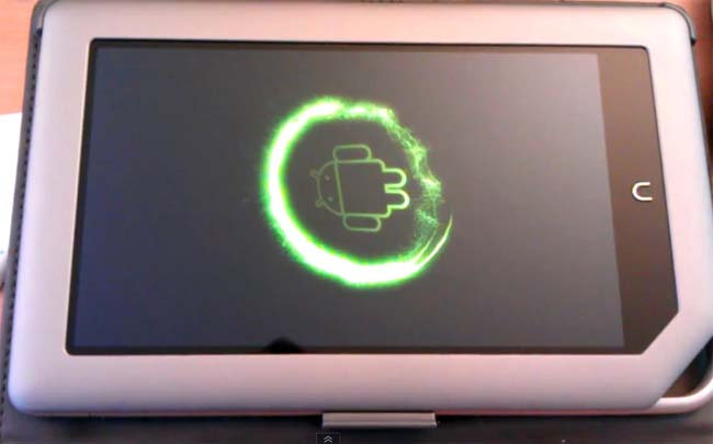 CyanogenMod 7 Nook Tablet