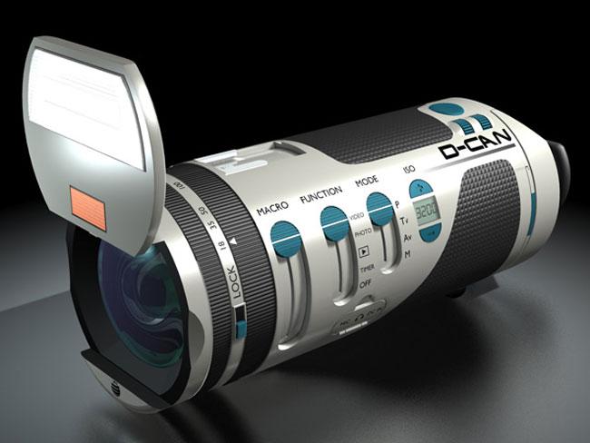 D-CAN Camera