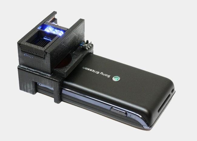 E-coli Smartphone Scanner