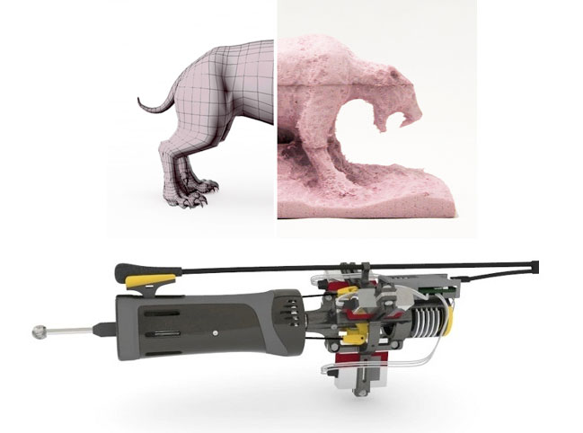 Handheld CNC machine
