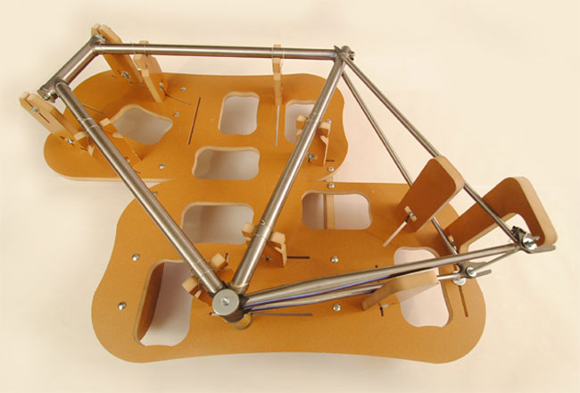 jiggernaut custom bike frame jig video