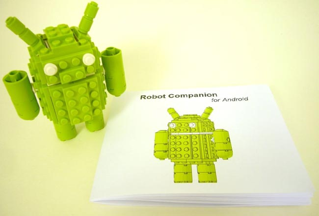 Lego Android Mascot