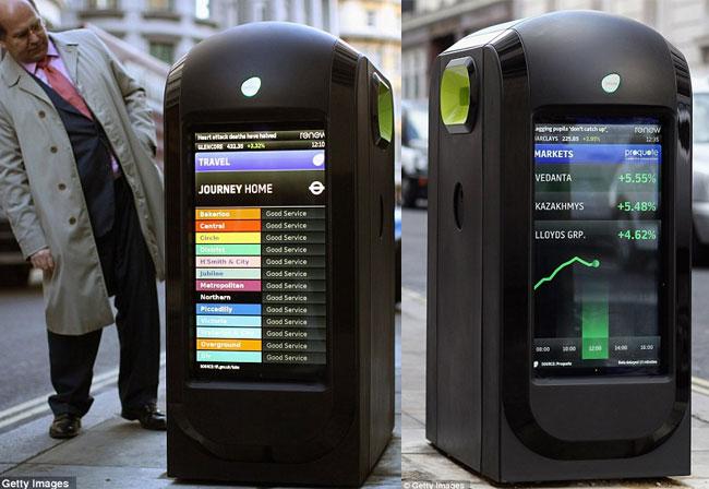London LCD Bins