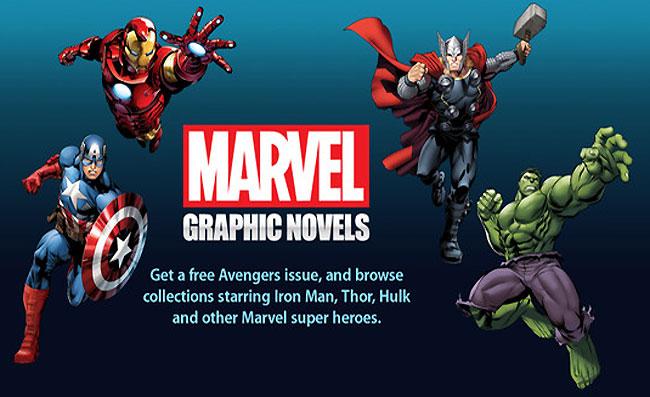 Marvel iBookstore