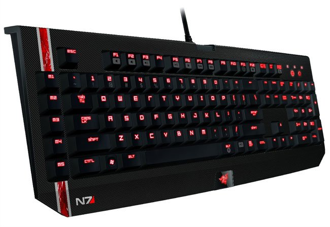 Mass Effect Razer Keyboard