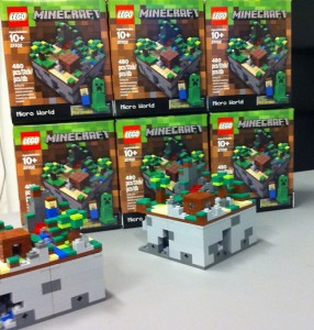 Lego Minecraft Kits Unveiled, Arriving This Summer