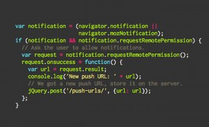 Mozilla Web Push