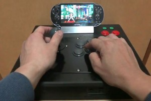 PS Vita Fight Stick Mod For Ultimate Marvel vs Capcom 3 (video)