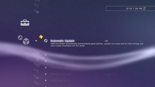 PS3 update