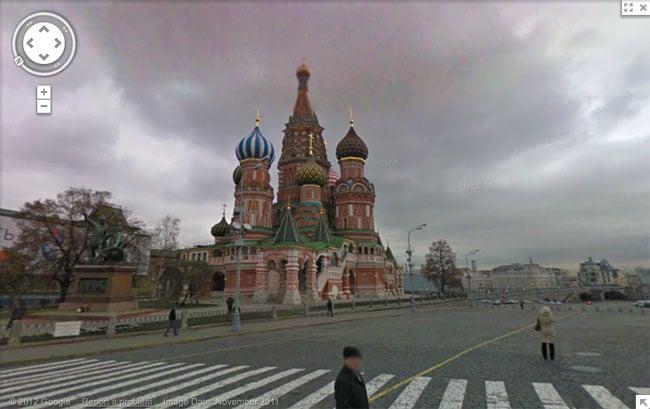 Russia Google Street View