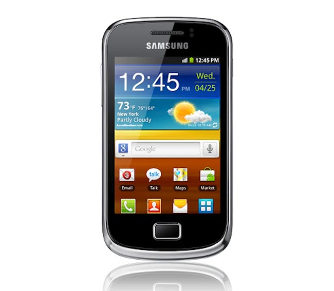 The Samsung Galaxy mini 2 will come with Android 2.3 Gingerbread and