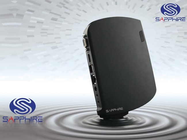 Sapphire AMD Fusion-Powered Edge-HD3 Mini PC