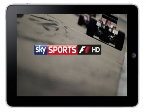 Sky F1 App Zooms Straight Into Your iPad