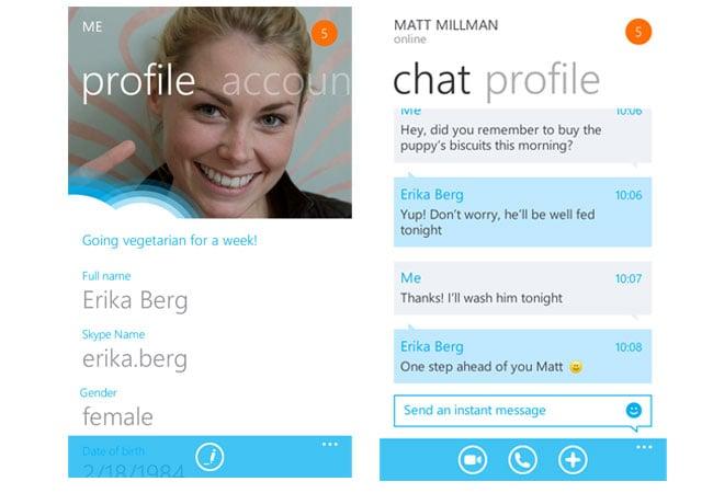 Skype Beta Windows Phone