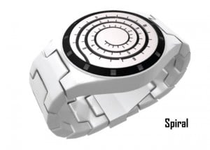 Spiral Watch Design