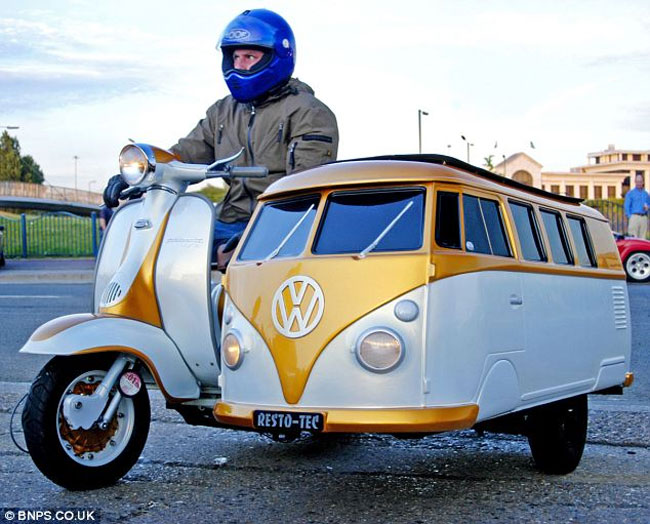 VW Camper Sidecar