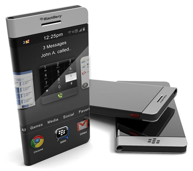 Wrap-around concept smartphone