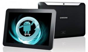 Samsung Galaxy Tab 10.1 WiFi Gets Pre Alpha CyanogenMod 9