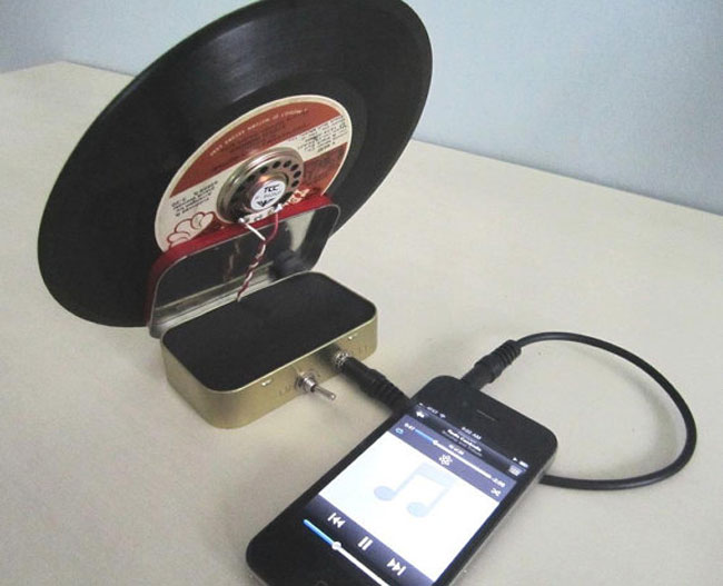 iPhone Record Amp Speaker