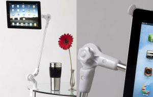 spiderArm will Mount Your IPad 2 Just about Anywhere