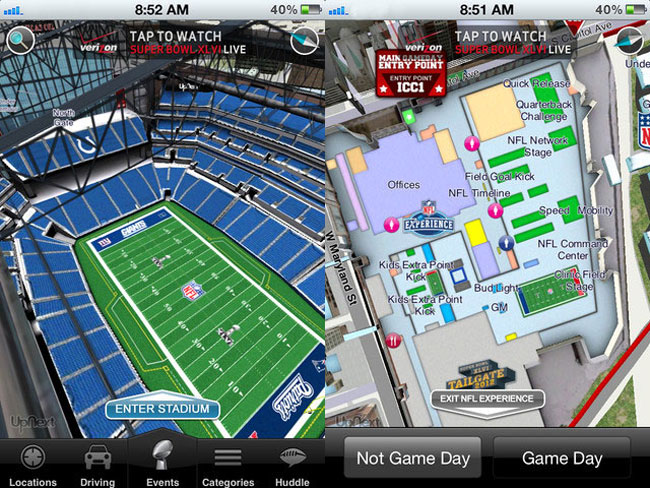 Super Bowl iPhone