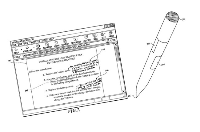 Amazon Patents Intelligent Pen