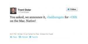 Baldur's Gate: Enhanced Edition Coming To OS X
