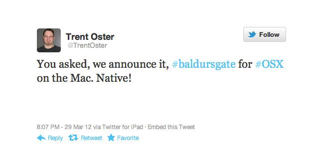 Baldurs Gate OS X