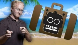 Autonomous Robot Luggage Created By Ben Heck (video)