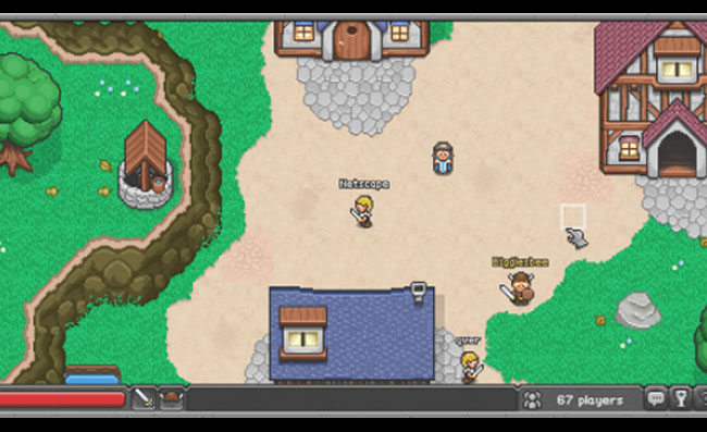 Mozilla Launches Online BrowserQuest Multiplayer Game To