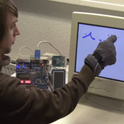 CRTouch Glove Project Transforms Old CRT Monitors Into Touchscreens (video)