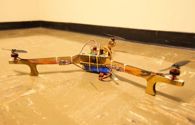 Cardboard Framed Tricopter