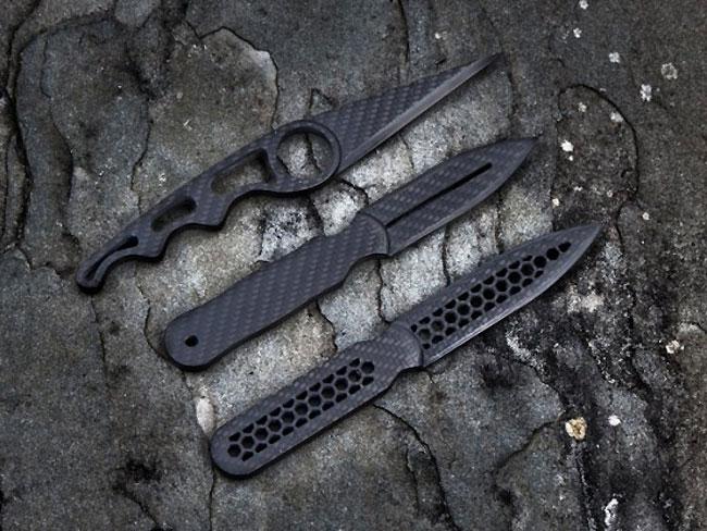 Carbon Fibre Daggers
