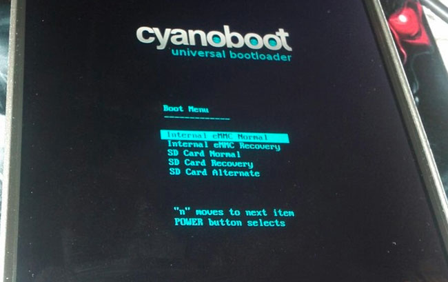 CyanoBoot bootloader