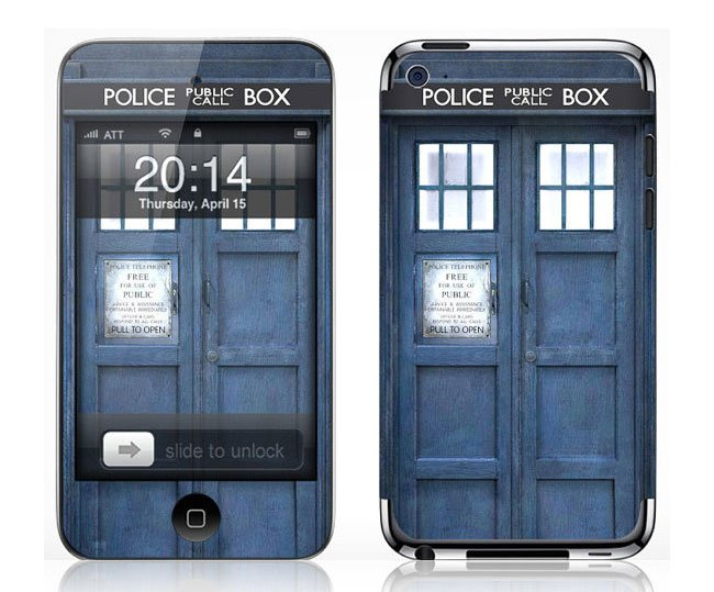 Doctor Who Tardis Police Box iPod