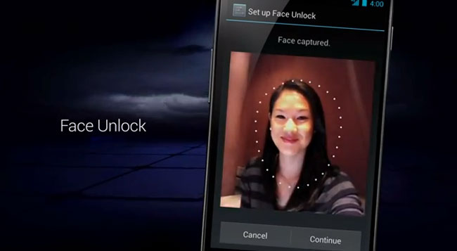 Android Face Unlock
