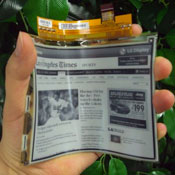 LG E-Paper Flexible Display Launching In Europe Next Month