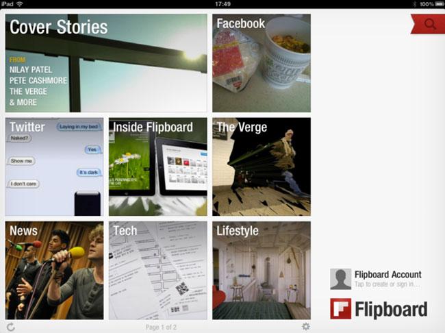 Flipboard Update