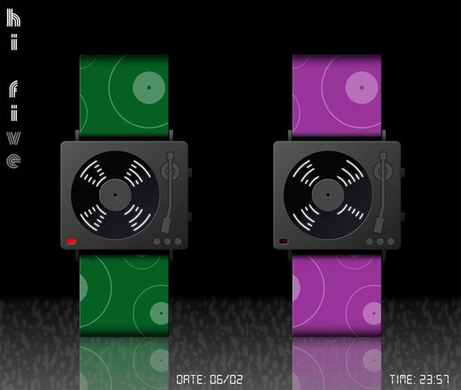 Hi-Five LED Wtach Concept