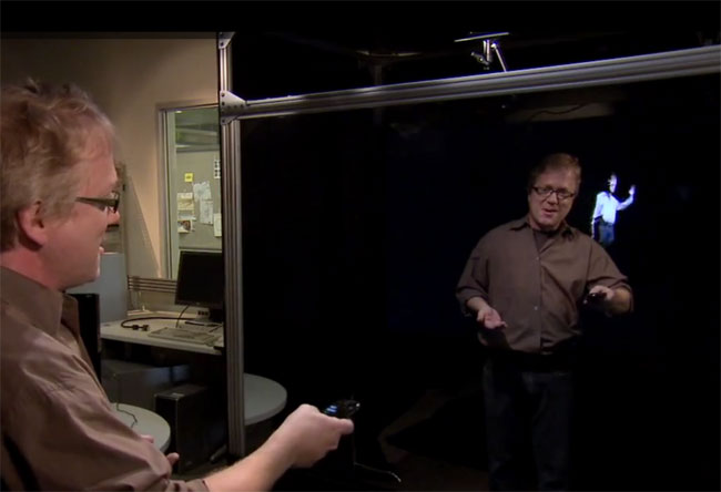 Holoflector Interactive Augmented-reality Mirror