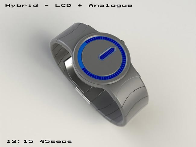 Tokyoflash Hybrid Watch