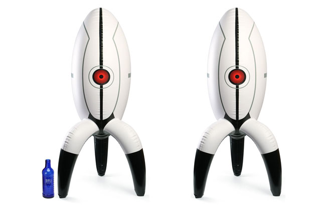 Inflatable Portal Turrets