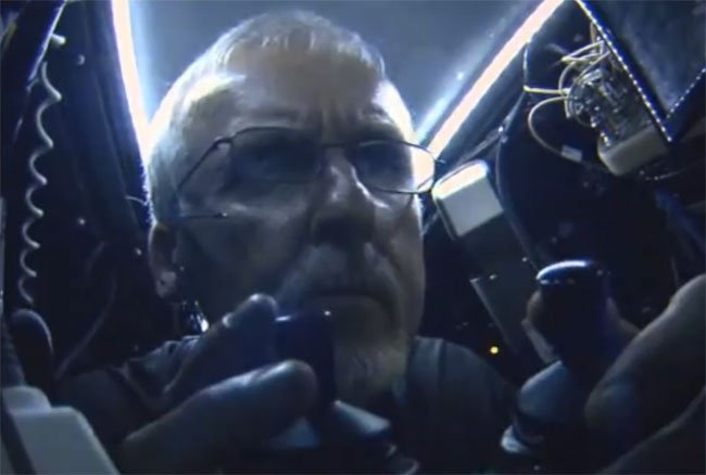 James Cameron Successfully Descends To The Deepest Point