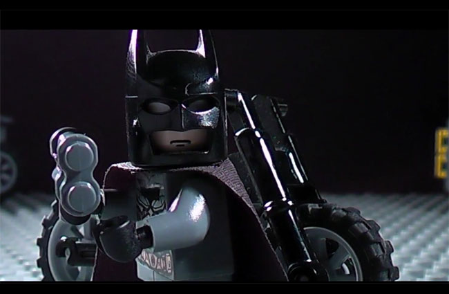 Lego Dark Knight Trailer