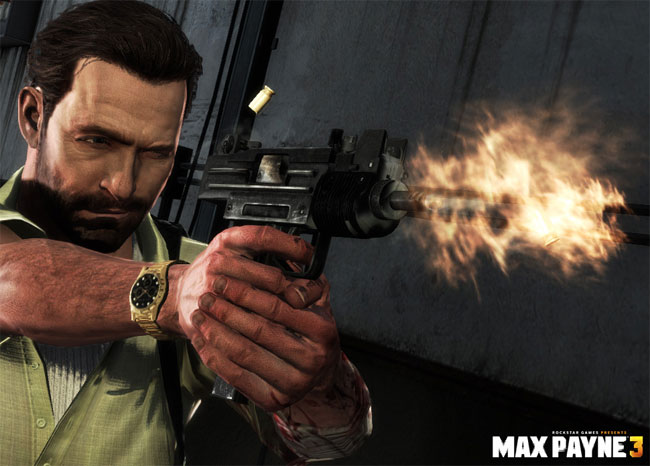 New Max Payne 3 Trailer Intros Games Machine Gun Weapons Video