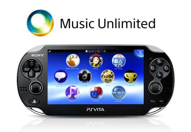 Music Unlimited PS Vita