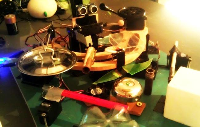 My Little Arduino Drummerbot