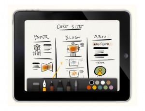 Awesome Paper Sketching App For The iPad (video)